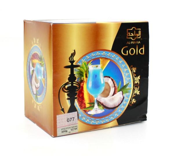 Al Waha Gold Blue Hawaii Shisha Tabak 200g