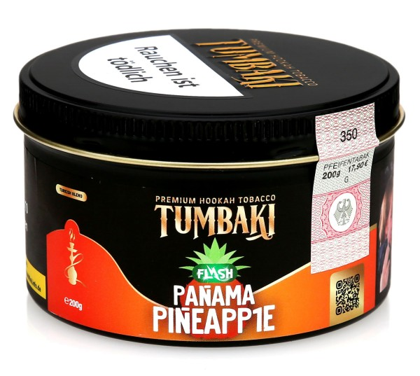 Tumbaki Tobacco - Panama Pineapp1e Flash 200g