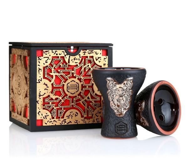 Japona Hookah Samurai Bowl Gold Exclusive Box