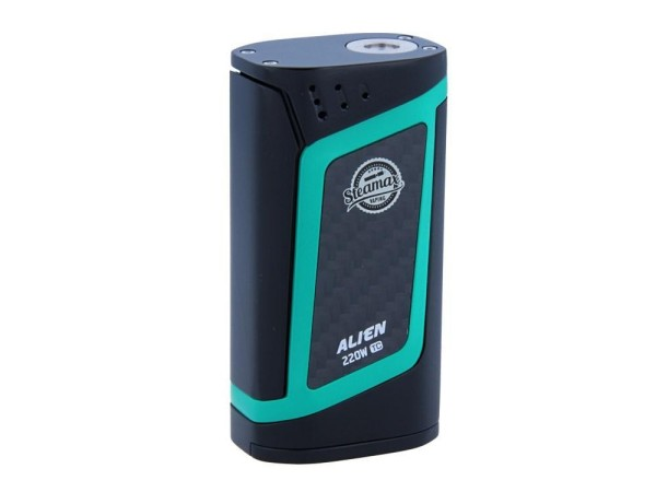 Steamax Alien Box Mod Set Schwarz Türkis
