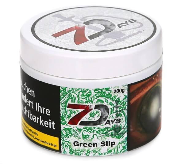 7Days Green Slip Shisha Tabak 200g