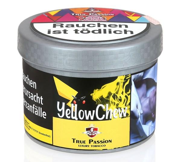 True Passion Yellow Chew Shisha Tabak 200g