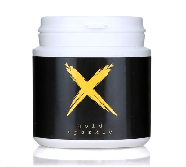 Xschischa X-Pulver 50g Gold Sparkle