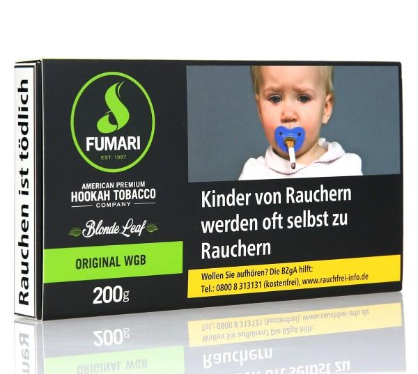 Fumari Original WGB Shisha Tabak 200g