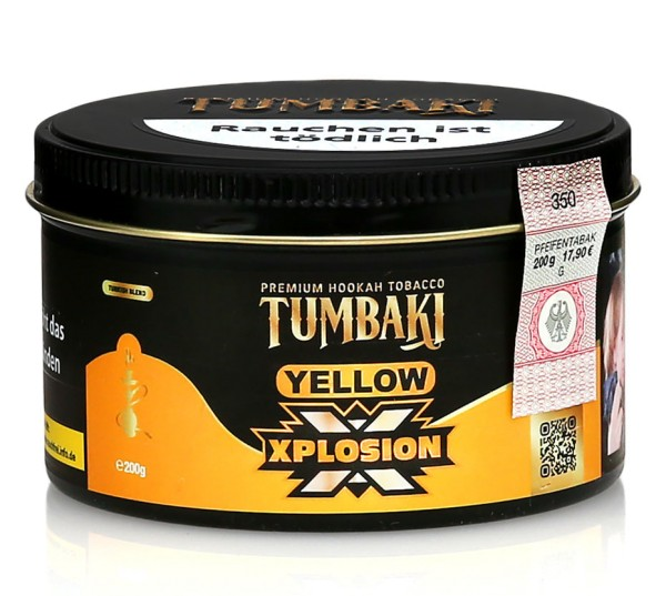 Tumbaki Tobacco - Yellow Xplosion 200g