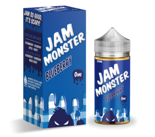 Jam Monster Blueberry 100ml Liquid