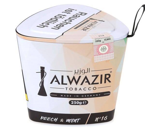 Alwazir No. 16 Peech & Mynt Shisha Tabak 250g