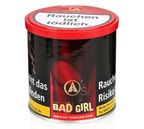 O's Tobacco Bad Girl Shisha Tabak 200g