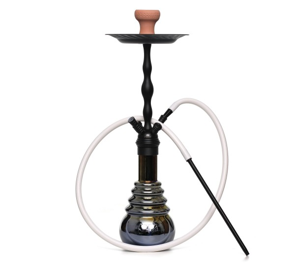 Caesar MPS Shisha Black Shaft Peacock Black