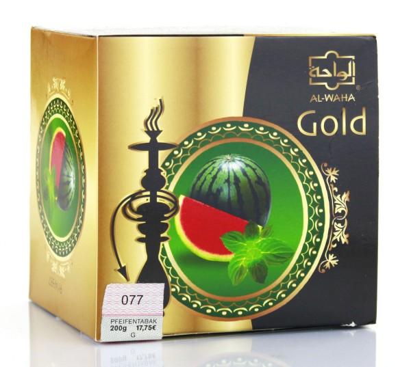 Al Waha Gold Wassermelone-Minze Shisha Tabak 200g