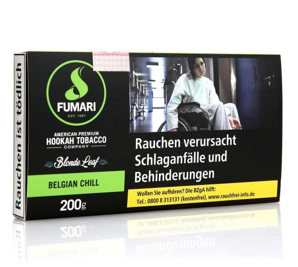 Fumari Belgian Chill Shisha Tabak 200g
