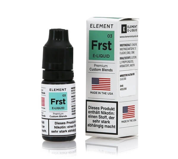 Element Frst - Frost e-Liquid