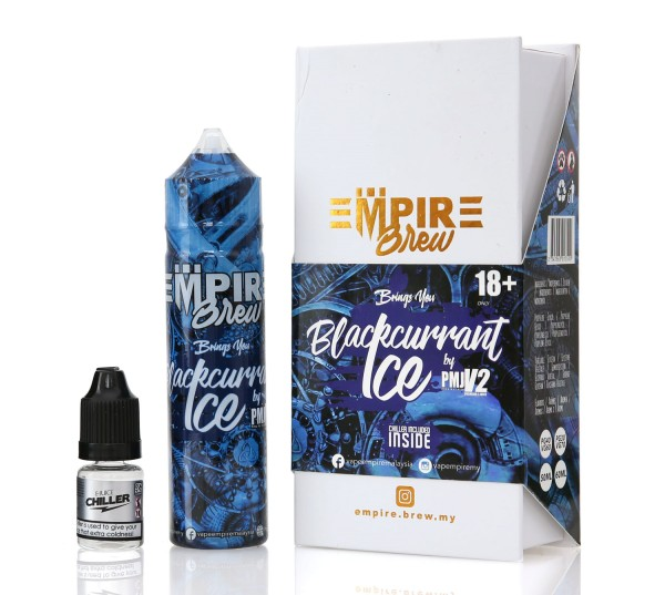 Empire Brew Blackcurrant Ice DIY Liquid