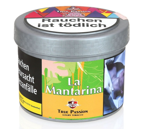 True Passion La Mantarina Shisha Tabak 200g
