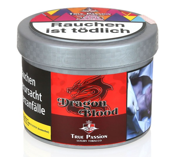 True Passion Dragon Blood Shisha Tabak 200g