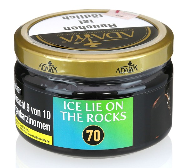 Adalya Ice Lie on the Rocks Shisha Tabak 200g