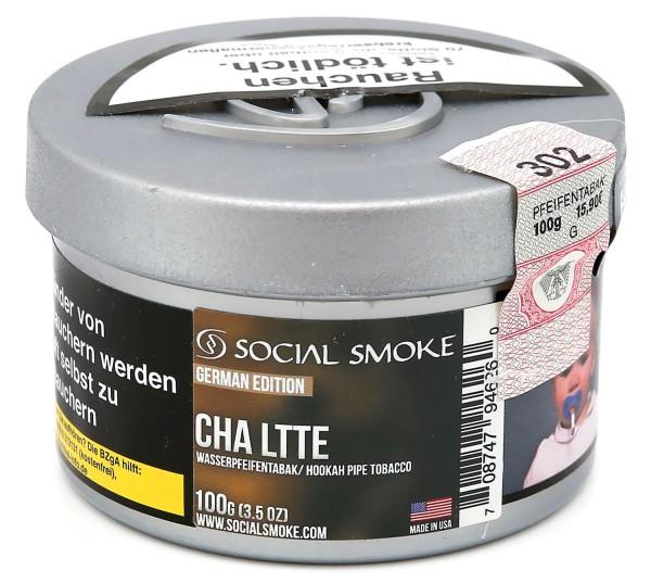 Social Smoke Chai Latte Shisha Tabak 100g