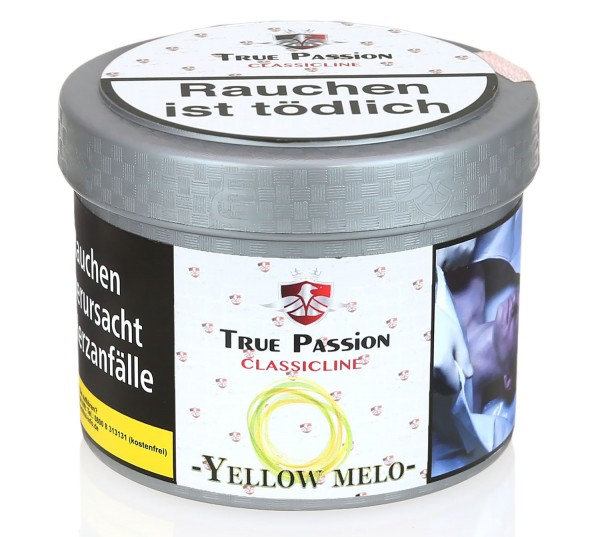 True Passion Yellow Melo Shisha Tabak 200g