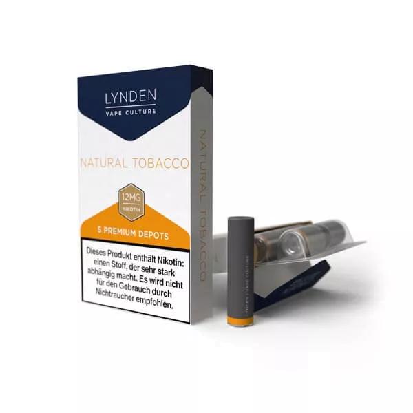 Lynden Depots Natural Tobacco (5 Stück)