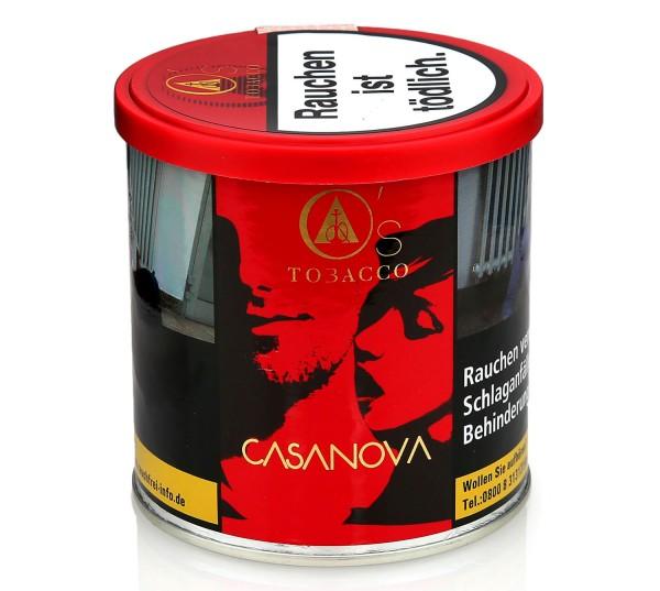 O's Tobacco Casanova Shisha Tabak 200g