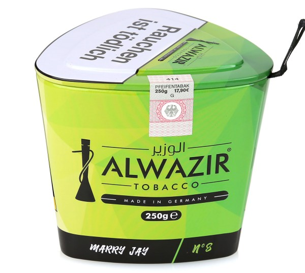 Alwazir No. 8 Marry Jay Shisha Tabak 250g