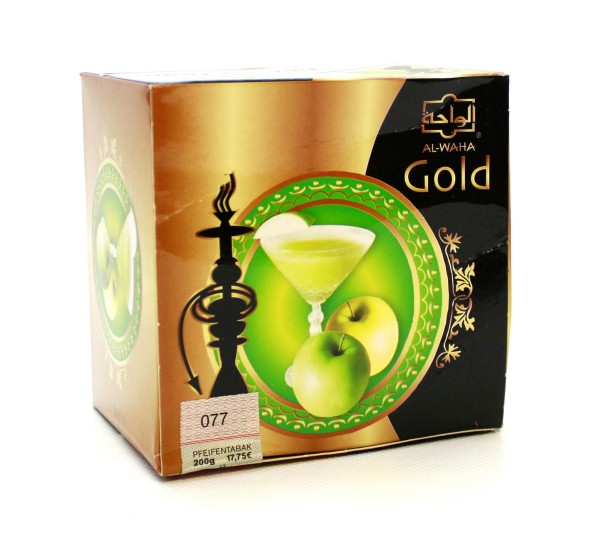 Al Waha Gold Apple Martini Shisha Tabak 200g