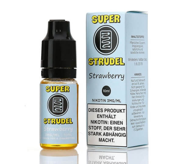 Super Strudel Strawberry e-Liquid