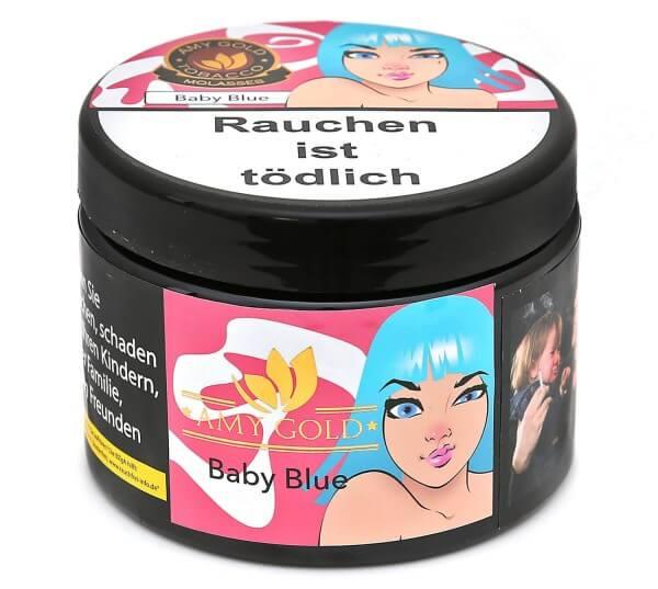 Amy Gold Baby Blue Shisha Tabak 200g