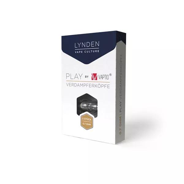 Lynden Play Ersatzverdampfer - 0,7 Ohm (5 Stück)