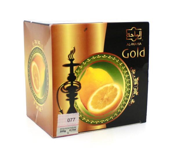 Al Waha Gold Zitrone Shisha Tabak 200g