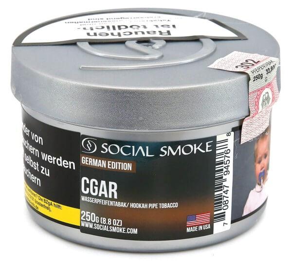 Social Smoke Cigar Shisha Tabak 250g