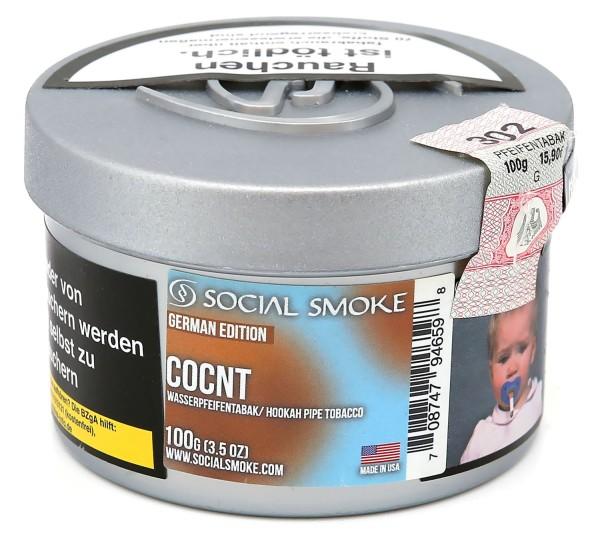 Social Smoke Coconut Shisha Tabak 100g
